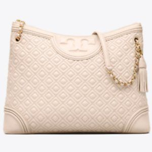 Tory Burch Large Fleming Quilted Tote